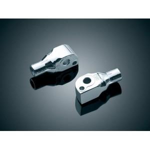 Adaptery do podnóżków (przód / tył) Kuryakyn 8840