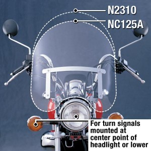 Szyba Dakota 3mm. N2310 - National Cycle