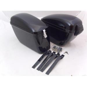 Kufry boczne - czarne