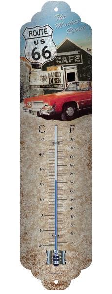 Termometr ROUTE 66 Nostalgic-Art